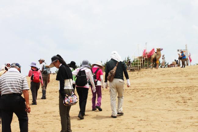 鳥取砂丘コース2