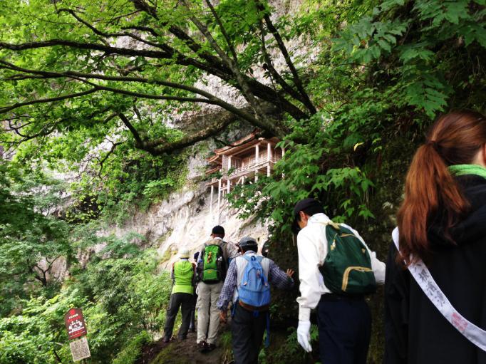 三徳山コース3