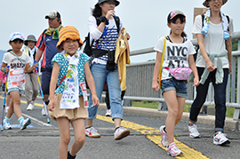 10km】天神川・倉吉駅コース【5km】川と緑の彫刻コース